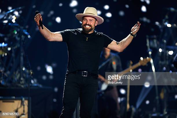 Singer Zac Brown performs onstage during the 2016 iHeartCountry Festival at The Frank Erwin Center on April 30 2016 in Austin Texas