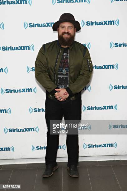 Singer Zac Brown visits the SiriusXM Studios on October 4 2017 in New York City