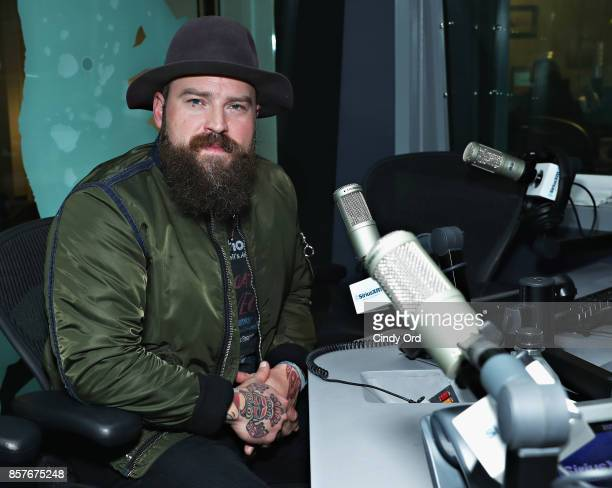 Singer Zac Brown visits the SiriusXM Studios on October 4 2017 in New York City