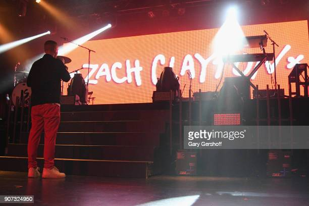 Singer Zach Clayton performs at PlayStation Theater on January 19 2018 in New York City