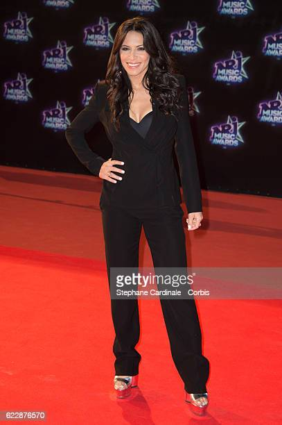 Singer Zahera Darabid aka Zaho attends the 18th NRJ Music Awards at Palais des Festivals on November 12 2016 in Cannes France