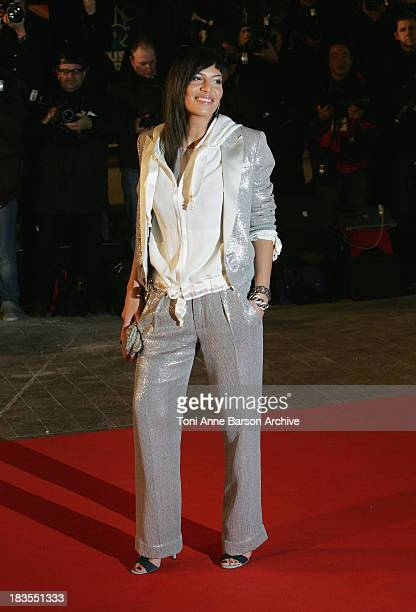 Singer Zaho arrives at the 10th annual NRJ Music Awards held at the Palais des Festivals on January 17 2009 in Cannes France