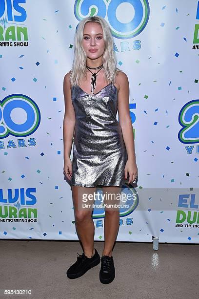 Singer Zara Larsson attends Elvis Duran's End Of Summer Bash at Hornblower Cruises Pier 15 on August 25 2016 in New York City