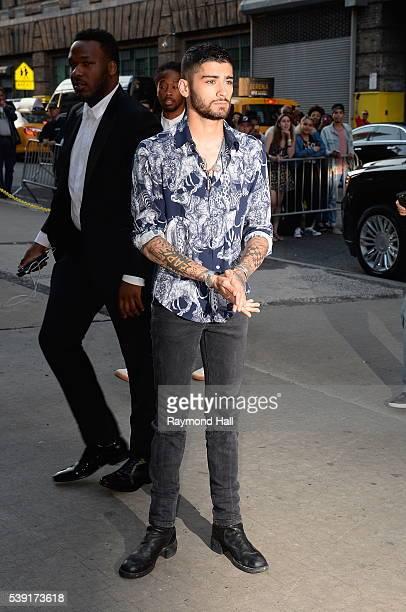 Singer Zayn Malik are seen in Midtown on June 9 2016 in New York City