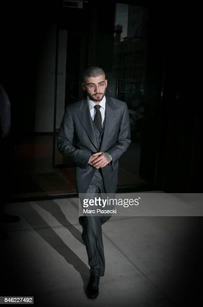 Singer Zayn Malik is seen on September 12 2017 in New York City