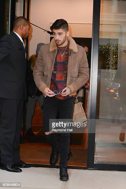 Singer Zayn Malik is seen walking in Soho on December 13 2016 in New York City