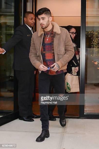 Singer Zayn Malik is seen walking in Soho on December 13 2016 in New York City