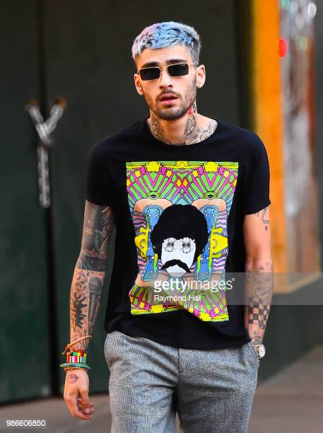 Singer Zayn Malik is seen walking in soho on June 28 2018 in New York City