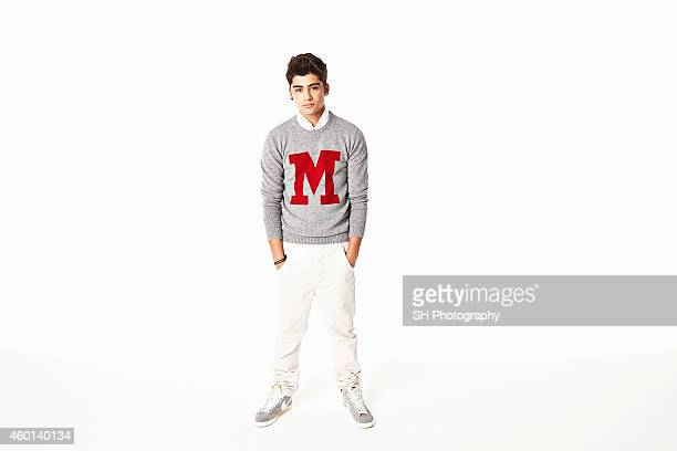 Singer Zayn Malik of pop band One Direction is photographed on December 21 2010 in London England