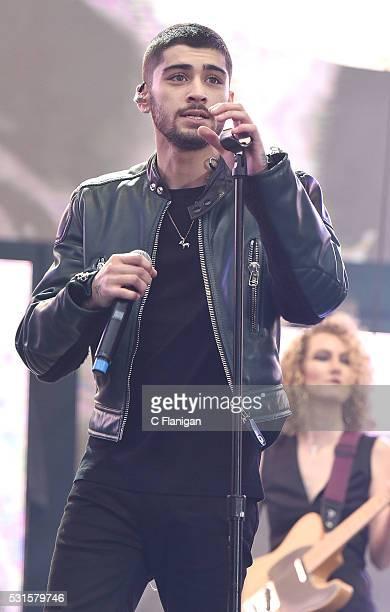 Singer Zayn Malik performs during 1027 KIIS FM's Wango Tango 2016 at StubHub Center on May 14 2016 in Carson California