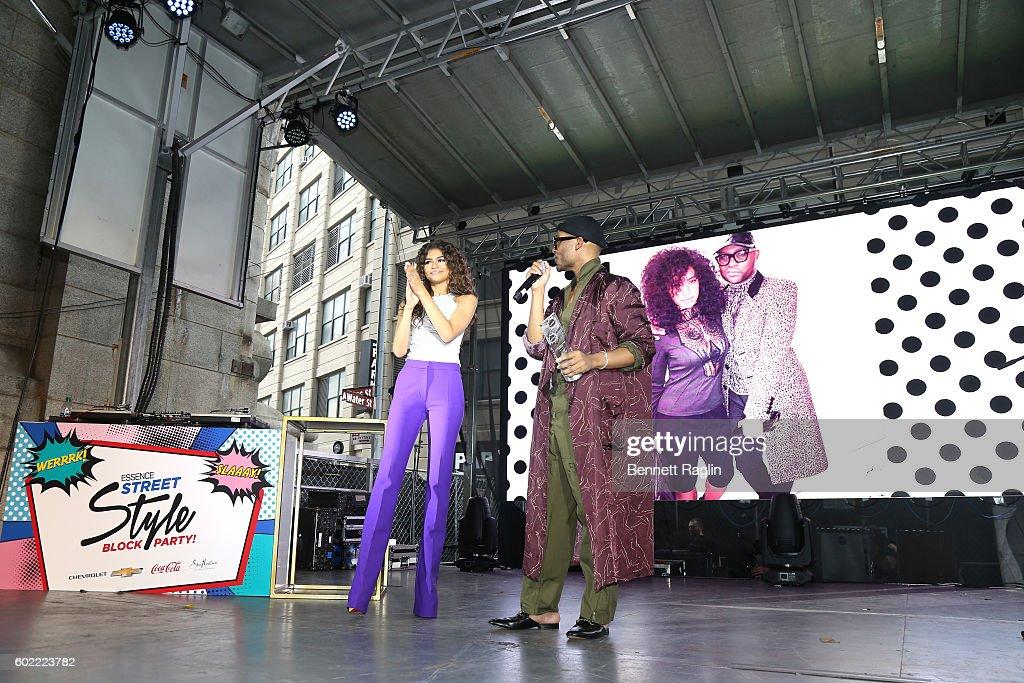 2016 Essence Street Style Block Party - Show : News Photo