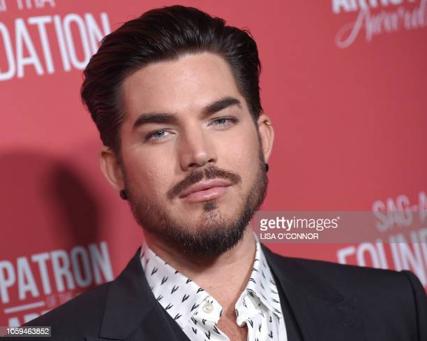 Singer/actor Adam Lambert attends the The SAGAFTRA Foundation 3rd Patron of the Artists Awards in Los Angeles California on November 8 2018