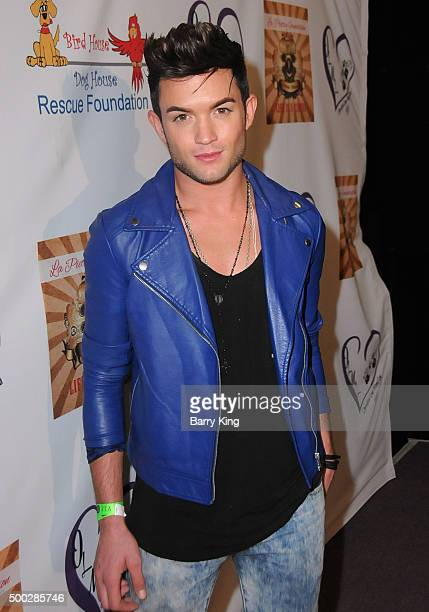Singer/actor Chris Trousdale attends Fundraising Event To Save Circus Animals Of Mexico Honoring Tippi Hedren And The Roar Foundation at Circus Disco...
