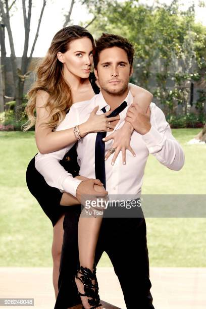 Singer/actor Diego Boneta and singer/actress Belinda are photographed for Vanity Fair Mexico on August 3 2016 in Mexico City Mexico COVER IMAGE