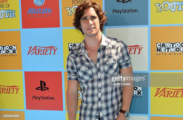 Singer/actor Diego Boneta arrives at Variety's Power of Youth presented by Cartoon Network held at Paramount Studios on September 15 2012 in...