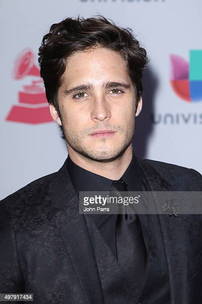 Singer/actor Diego Boneta attends the 16th Latin GRAMMY Awards at the MGM Grand Garden Arena on November 19 2015 in Las Vegas Nevada