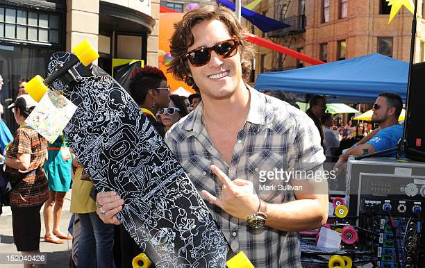 Singer/actor Diego Boneta attends Variety's Power of Youth presented by Cartoon Network held at Paramount Studios on September 15 2012 in Hollywood...