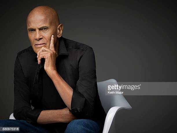Singer/actor Harry Belafonte is photographed for Ebony Magazine on July 23 2015 in New York City