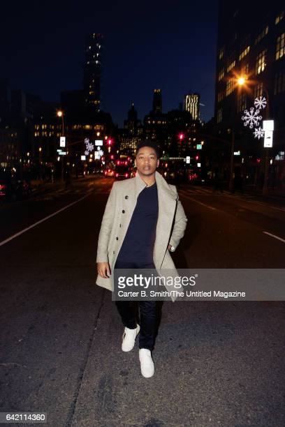 Singer/actor Jacob Latimore is photographed for The Untitled Magazine on December 5 2016 in New York City CREDIT MUST READ Carter B Smith/The...