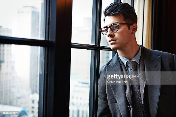 Singer/actor Joe Jonas is photographed for GQ Taiwan on May 23 2014 in New York City