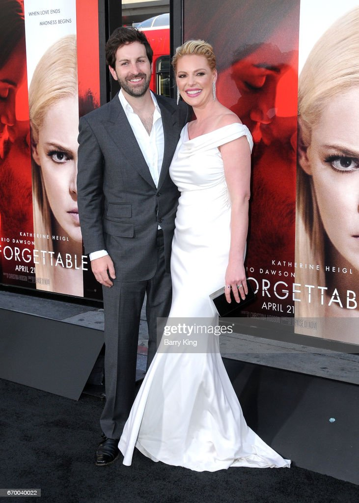 Singer/actor Josh Kelley and actress Katherine Heigl attend premiere of Warner Bros. Pictures' 'Unforgettable' at TCL Chinese Theatre on April 18, 2017 in Hollywood, California.