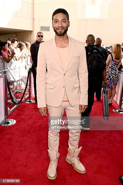 Singer/actor Jussie Smollett attends the 2015 Billboard Music Awards at MGM Grand Garden Arena on May 17 2015 in Las Vegas Nevada