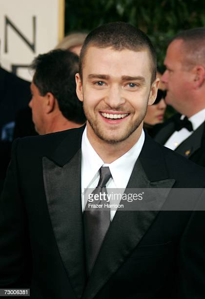 Singer/actor Justin Timberlake arrives at the 64th Annual Golden Globe Awards at the Beverly Hilton on January 15, 2007 in Beverly Hills, California.
