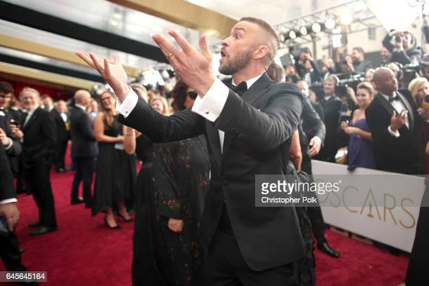 Singer/actor Justin Timberlake attends the 89th Annual Academy Awards at Hollywood Highland Center on February 26 2017 in Hollywood California