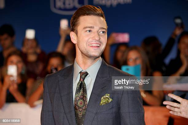 Singer/actor Justin Timberlake attends the 'Justin Timberlake The Tennessee Kids' premiere during the 2016 Toronto International Film Festival at Roy...