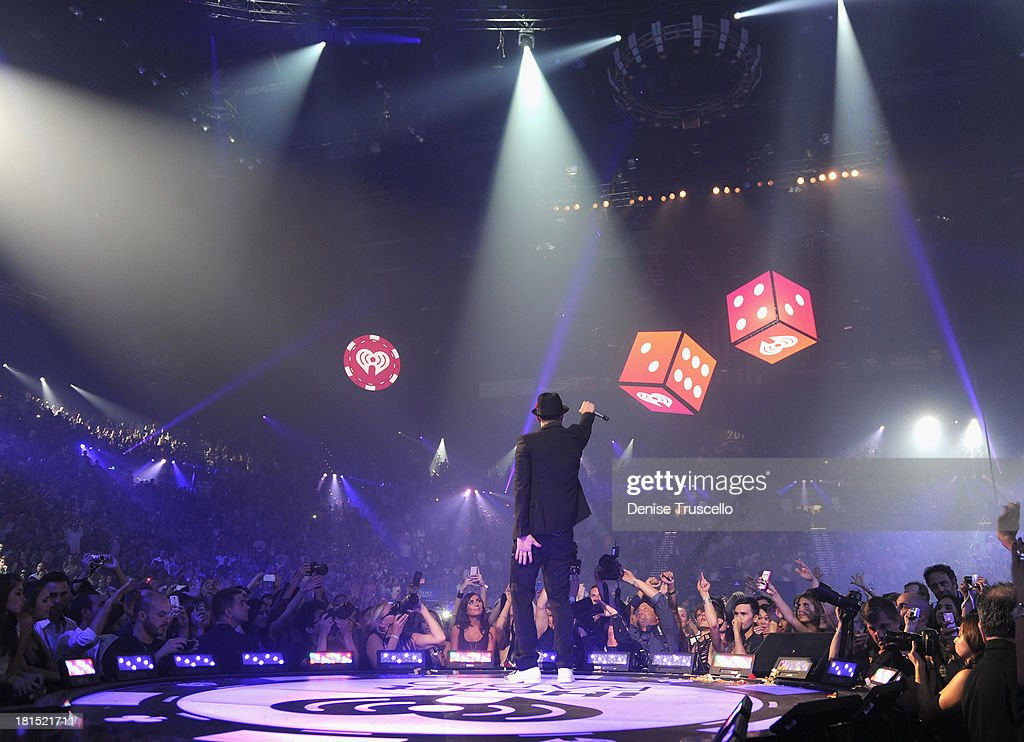 Singer/actor Justin Timberlake performs onstage during the iHeartRadio Music Festival at the MGM Grand Garden Arena on September 21, 2013 in Las Vegas, Nevada.