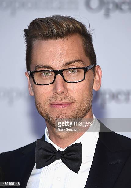 Singer/actor Lance Bass attends the Metropolitan Opera 20152016 Season Opening Night's production of 'Otello'at The Metropolitan Opera House on...