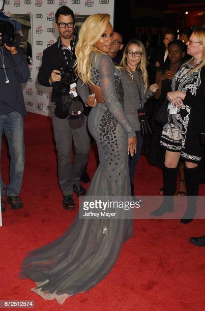 Singer/actor Mary J Blige attends the screening of Netflix's 'Mudbound' at the Opening Night Gala of AFI FEST 2017 presented by Audi at TCL Chinese...