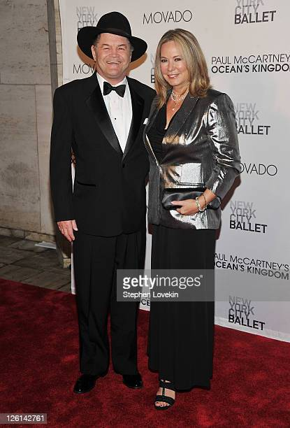 Singer/actor Micky Dolenz and wife Donna Quinter attend the 2011 New York City Ballet Fall Gala at the David Koch Theatre at Lincoln Center on...