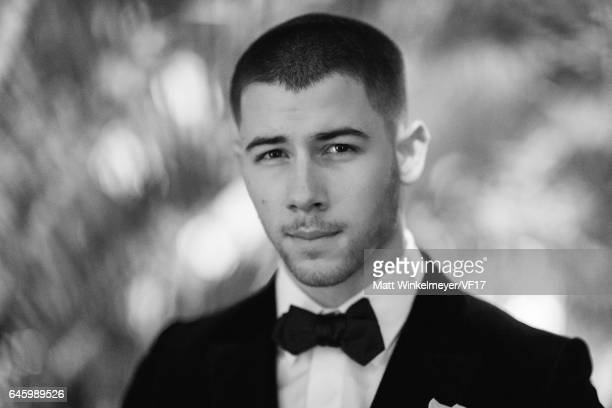 Singer/actor Nick Jonas attends the 2017 Vanity Fair Oscar Party hosted by Graydon Carter at Wallis Annenberg Center for the Performing Arts on...