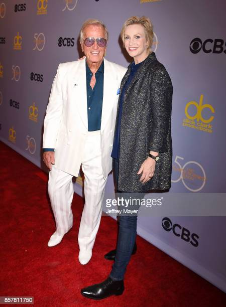 Singer-actor Pat Boone and actress-comedian Jane Lynch attend the CBS' 'The Carol Burnett Show 50th Anniversary Special' at CBS Televison City on...