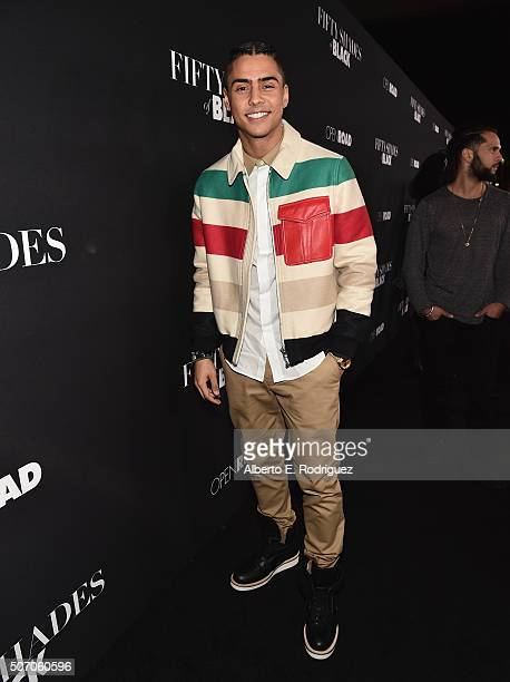 Singer/actor Quincy Brown attends the premiere of Open Road Films' Fifty Shades of Black at Regal Cinemas LA Live on January 26 2016 in Los Angeles...