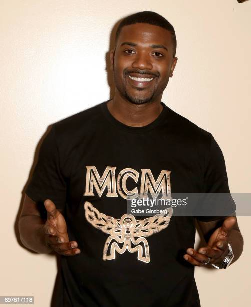 Singer/actor Ray J attends a meetandgreet for the 'Homes 4 Heroes' television project on June 19 2017 in Las Vegas Nevada
