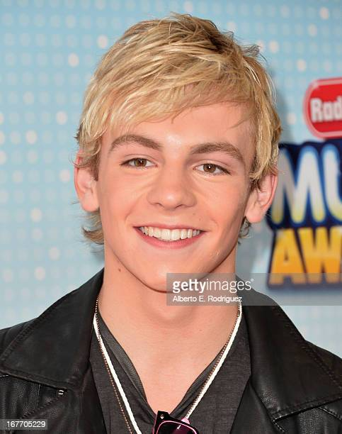 Singer/actor Ross Lynch arrives to the 2013 Radio Disney Music Awards at Nokia Theatre LA Live on April 27 2013 in Los Angeles California