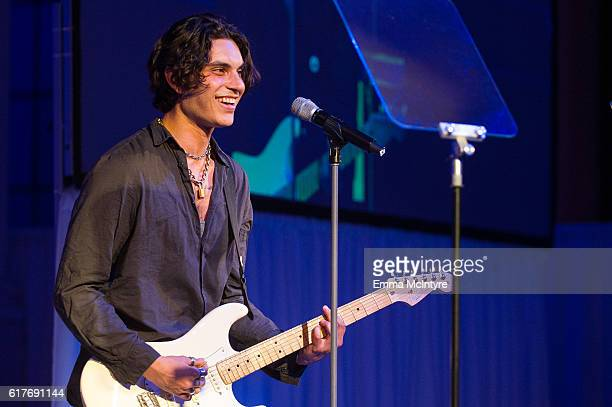 Singer/actor Samuel Larsen attends the 12th Annual Outfest Legacy Awards at Vibiana on October 23 2016 in Los Angeles California
