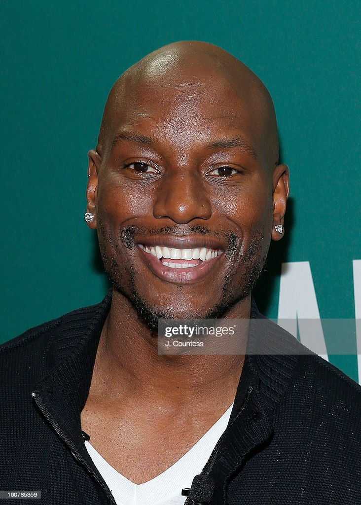 Singer/actor Tyrese Gibson attends the book signing for the book 'Manology: Secrets of a Man's Mind Revealed' at Barnes & Noble Union Square on February 5, 2013 in New York City.