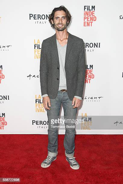 """Singer/actor Tyson Ritter attends the premiere of """"The Sweet Life"""" during the 2016 Los Angeles Film Festival at Arclight Cinemas Culver City on June..."""