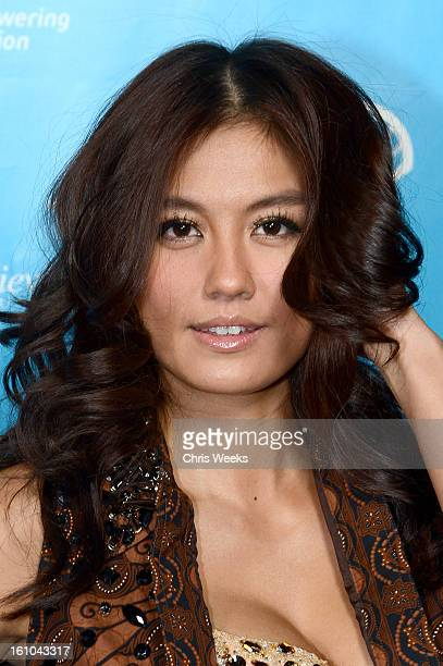 Singer/actress Agnes Monica joins mPowering Action a global mobile youth movement at Grammy Week launch featuring performances by Timbaland and...