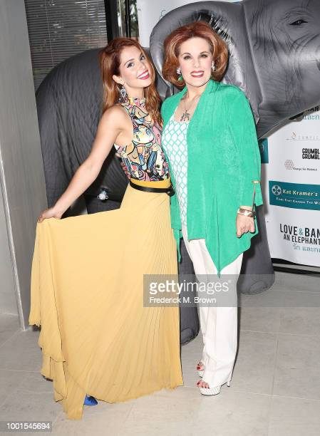 Singer/Actress Ainsley Ross and creator/producer/moderator Katherine 'Kat' Kramer attend 'Sheroes for Change' 10th Anniversay 'Kat Kramer's Films...