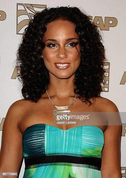 Singer/actress Alicia Keys attends the 22nd annual ASCAP Rhythm Soul Music Awards at The Beverly Hilton Hotel on June 26 2009 in Beverly Hills...