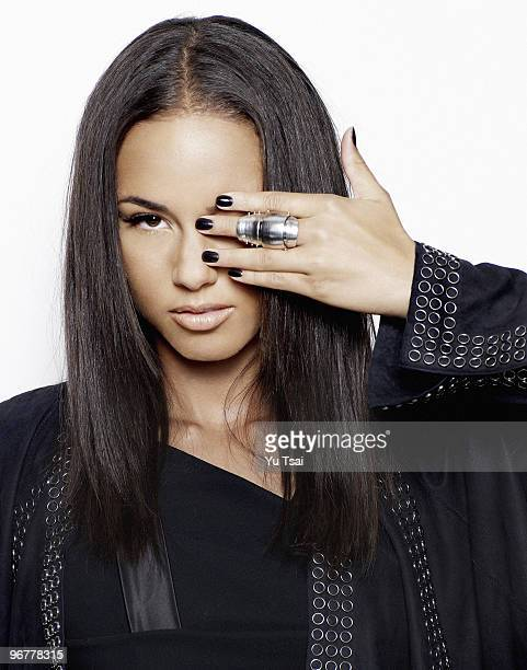 Singer/Actress Alicia Keys is photographed for Arise Magazine
