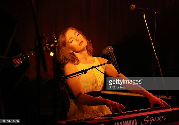 Singer/actress Alicia Witt performs at The McKittrick Hotel on March 22 2015 in New York City
