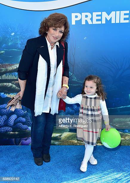 Singer/actress Angelica Maria attends The World Premiere of DisneyPixar's FINDING DORY on Wednesday June 8 2016 in Hollywood California