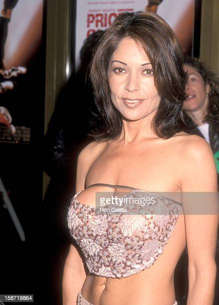 Singer/Actress Apollonia Kotero attends the 'Price of Glory' Westwood Premiere on March 23 2000 at Mann National Theatre in Westwood California