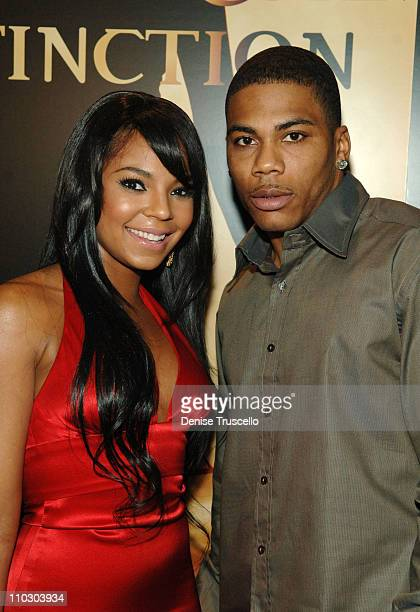 Singer/actress Ashanti and Nelly arrive at The World Premiere of Resident Evil: Extinction at THe Planet Hollywood Resort & Casino on September 20,...