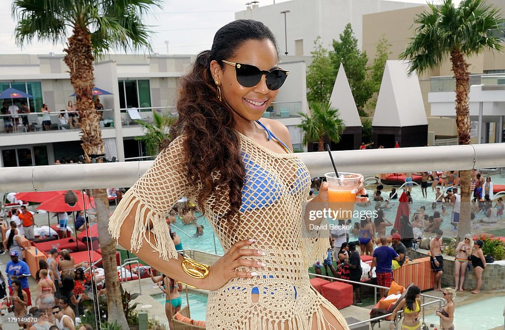 Singer/actress Ashanti appears at 'Ditch Saturdays' at the Palms Pool & Bungalows at The Palms Casino Resort on August 31, 2013 in Las Vegas, Nevada.